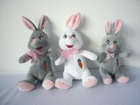 wholesale graduation purple bunny stuffed long legs rabbit gifts plush toy