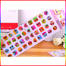 cartoon characters offset printing PVC stickers