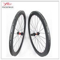 700c carbon 50mm tubular cyclocross wheels with 23mm width with DT240 and Sapim spokes 28/28h