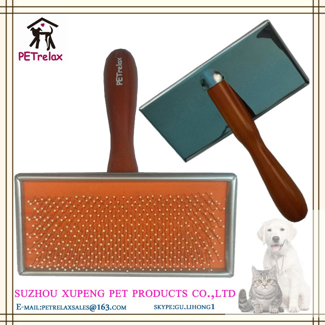 (L) PR80026 large size concentrated soft pins with trim needling solid handle type dog vacuum groomer