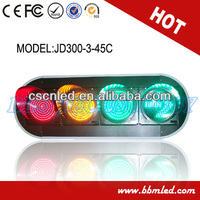 Black shell led traffic die ampel