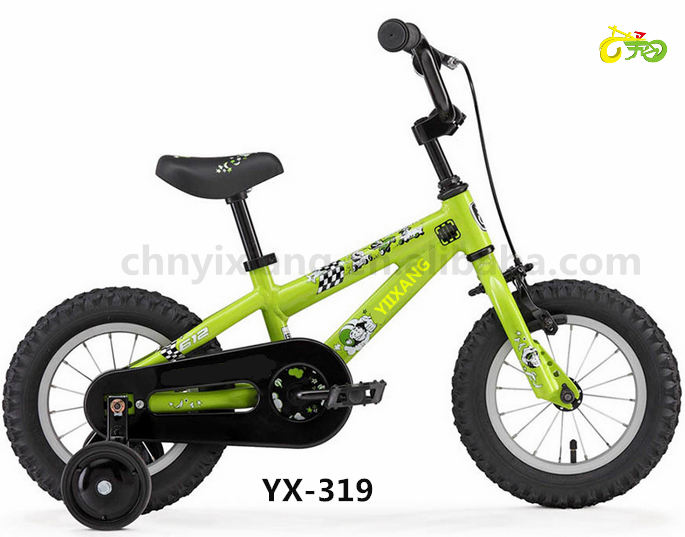 Yixiang YX-319 best seller cheap wholesale bicycles kids bike bike accessory bike 4 wheeled with eyes friendly color-12''