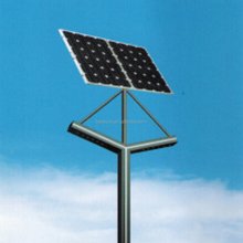 monocrystalline silicon solar panel 2.8-4m integrated solar garden light/LED solar street light