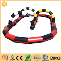 inflatable race track for kids sports