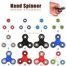 Hot selling ABS Tri-Spinner Desk Focus Toy