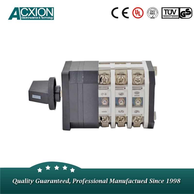 3 Positons Tumbler Transfer Rotary Switch