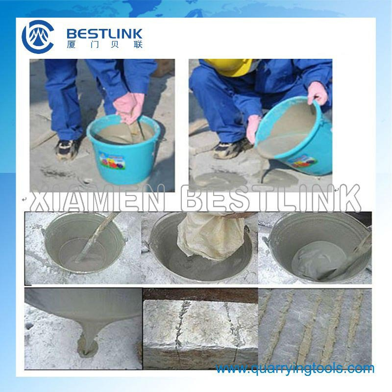 Soundless stone cracking powder