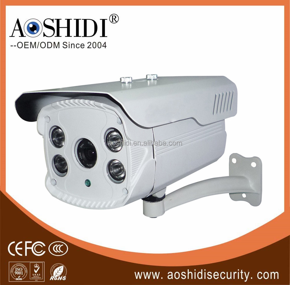 B40A 1mp/1.3mp/2mp AHD Cameras,with 4pcs Array LEDs CCTV Door Security Camera