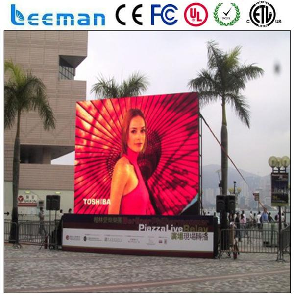 movie/video/tv car alibaba express big board advertising led display