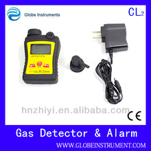 Portable chlorine leakage detector with CL2 = 0-10 ppm Measurement Range