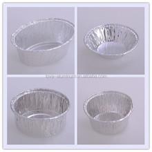 custom baking trays disposable smooth aluminium foil food packaging design