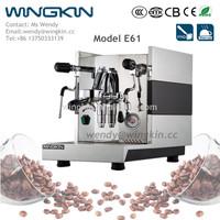 WINGKIN Eli E61 1 group espresso coffee maker machine for cafe commericial