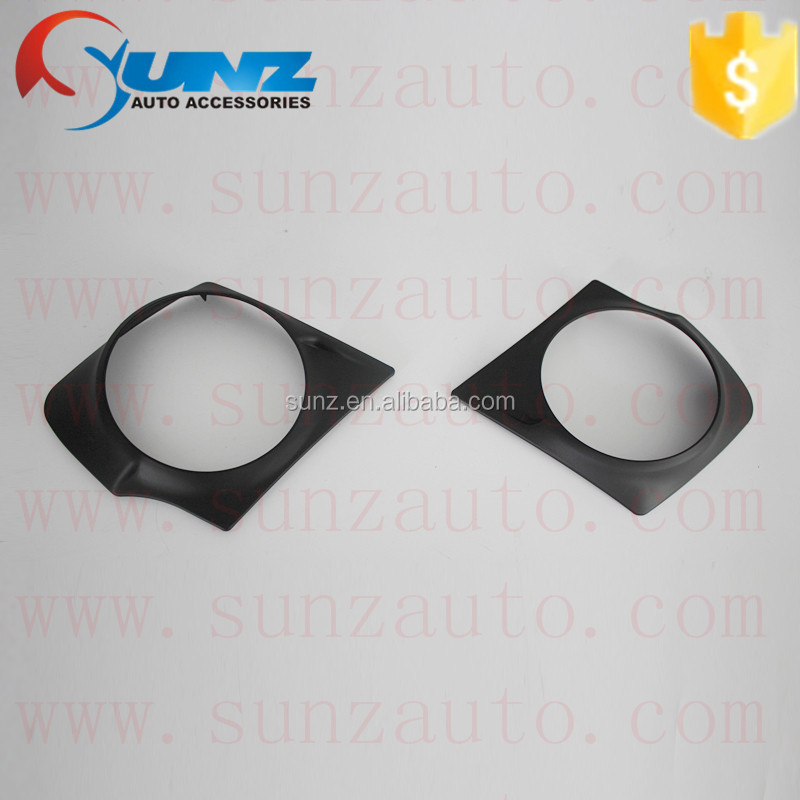 ABS plastic black color <strong>Mitsubishi</strong> <strong>l200</strong> triton FOG LIGHT LAMP COVER <strong>cars</strong> exterior accessories hot selling