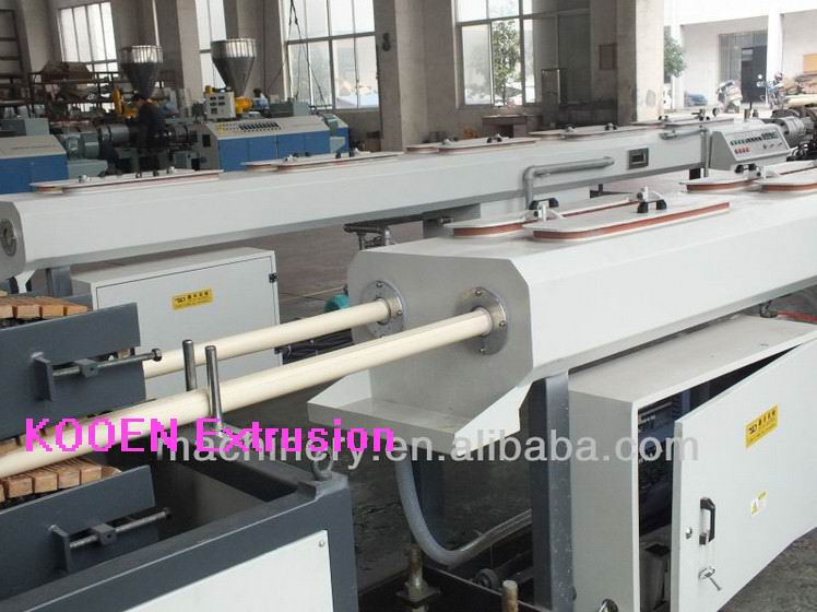 Plastic pvc pipe extruder machine with best price