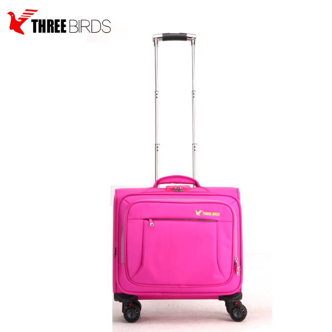 China supplier unisex rolling cabin airport suitcase luggage bag pilot trolley case