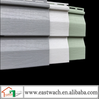 Plastic PVC Outdoor Covering Decorative Siding PVC Exterior Sectional Wall Panels