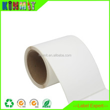 Self Adhesive Paper Label Custom Sizes Roll Blank Label