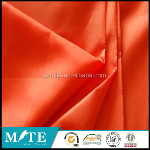 190t dyed taffeta fabric/stocklot taffeta in china/china wholesale taffeta lining