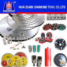 HUAZUAN different kinds of diamond tools for cutting abrasiving grinding polishing