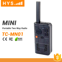 Small Size Toy Wireless Hands Free 2Km Range Licence Free Walkie Handy Talkie 2 Way Radio For Kids