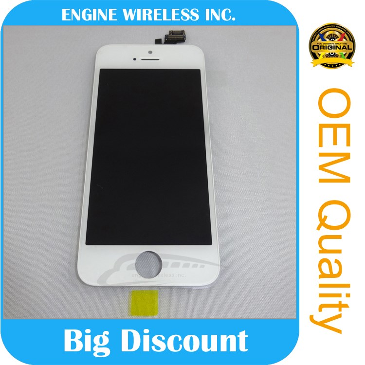 china mobile phone spare parts for iphone 5 lcd,for iphone glass screen