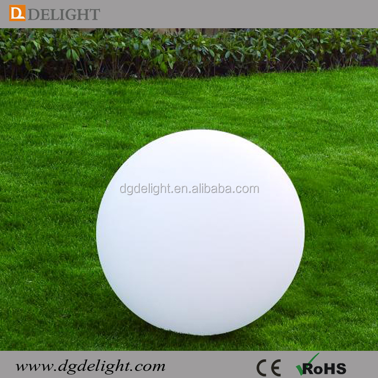 RGB Color Changing LED Mood Light Big 80cm LED Ball for Garden Decor