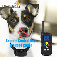 remote vibration buzzer stimulation dog training bark stopping collar