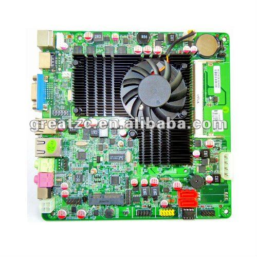 ZC-GT218H INTEL Desktop Computer Motherboard Intel With Atom Dual Core D525 Dual Core 1.8G Motherboard