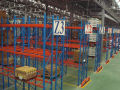 heavy duty space saving adjustable pallet racking system with SGS and BV certificate