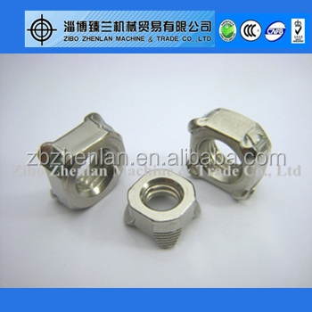 A2-70 Stainless Steel DIN928 Weld Nut M6 M8 M10