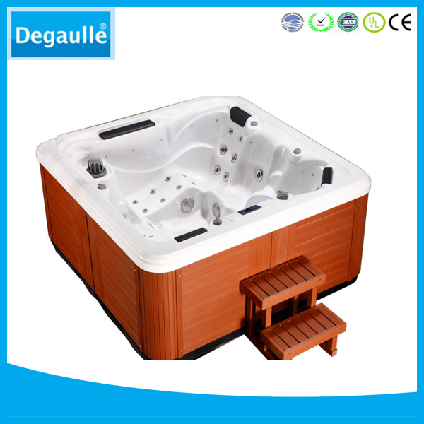 Top swimming pool massage acrylic outdoor SPA hot tubs for 5 people