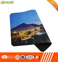 competitive price multi color printing promotional rubber mouse pad
