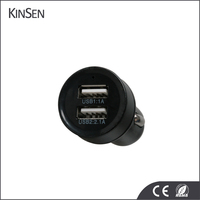Wholesale Mini Dual 2 USB Port 12V Car Charger Adapter For iPhone 6 6s 7 7 Plus