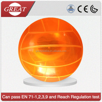 transparent ponotional customized volley ball beach ball