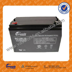 Good quality VRLA 12v 120AH battery for solar panel