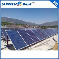 New 5000w on grid solar panel kit / home system 5kw