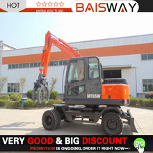hyundai wheel excavator,wheel excavator for sale