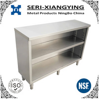 NSF Approval Stainless Steel Kitchen Equipment Cabinet