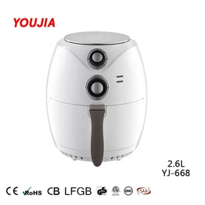 2.6L manual air fryer without oil