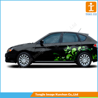 Custom pvc car window sticker car decal sticker