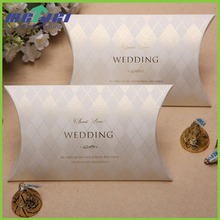 Durable chipboard glooss gold foil box custom printed wedding decorative cardboard boxes