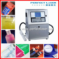 Hotsale 2015 new machine Perfect Laser yellow/white/black cable inkjet printer 1-4/5/6 lines bottles bags