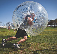 Hot 1.5m (5ft ) Diameter adult size inflatable knock ball inflatable adult bumper ball bubble ball