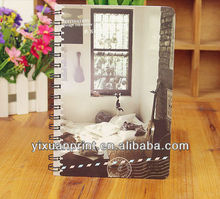 clear cover notebook