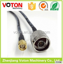 alibaba in russian made in China coaxial cable price custom sma cable assembly
