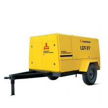 Kaishan( LGCY-7.5/7) Diesel Portable Screw Air Compressor For Sale