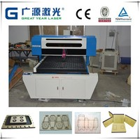 For carton, Sticker and wooden punch CNC CO2 laser die cutter