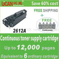 (12pieces/lot) exclusive 100% new 12a CTSC compatible for HPLJ1022 toner cartridge.12000 pages,acrylic keychain laser cut