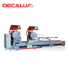 Factory Price Aluminum Door Windows Fabrication Machine CNC Double Head Cutting Saw