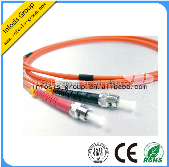 LC ST SC MPO fiber patch cords OM4 OM3 fibre optic cables